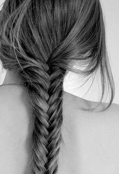 beautiful, blonde, blonde hair, braide, braide tail