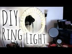 ♥ DIY EASY & CHEAP Diva Ring Light   Step by Step Tutorial ♥ Makeup Miracles Online - YouTube