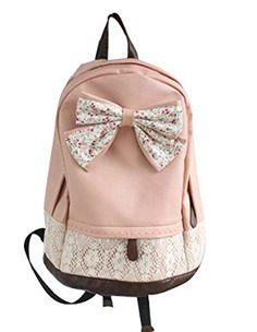 Cute Lace College Style Leisure PU leather Backpack Lovely Bow Rucksack Sealike http://www.amazon.com/dp/B00M80YUI8/ref=cm_sw_r_pi_dp_h.vmvb1W16FXJ