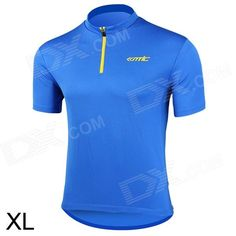 Santic WC02004B Bicycle Cycling Riding Polyester Fiber Short Sleeves Jersey for Men (Size XL) Price: $20.00