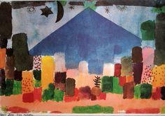 Paul Klee, Der Niesen, 1915