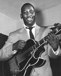 Montgomery, Wes: silky smooth guitarist, born Indianapolis 1923, died Indianapolis 1968; revolutionized the art of jazz guitar and beat the odds when his songs were played regularly by AM radio stations. At the peak of his commercial success, a fatal heart attack silenced Montgomery's octave-note solos and sophisticated chords. How cool? Strong work ethic translated into days spent as a welder and nights spent onstage. My husband found one of his guitars and sold it.
