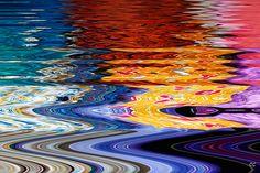 Acqua, luce e colori! by Cati@, via Flickr