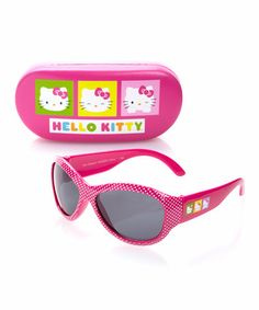 Loving this Pink Hello Kitty Sunglasses on #zulily! #zulilyfinds