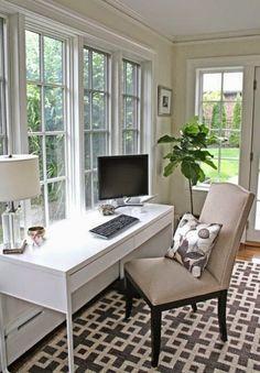 Client Reveal: Preppy Home Office | Desks, Office Desks And Office Spaces