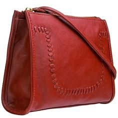 Off - Hidesign Mina Leather Cross body Leather Handbags Online, Vegan Handbags, Leather Purses, Red Crossbody Bag, Leather Crossbody, Long Strap Purse, Purses For Sale, Purse Sale, Cow Leather