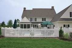 Superior Plastic Products-Photo Gallery of our Vinyl Fence, Porch & Deck Railing Installations Vinyl Railing, Deck Railings, Vinyl Picket Fence, Porch And Balcony, Decks And Porches, Denmark, Photo Galleries, Cabin, House Styles