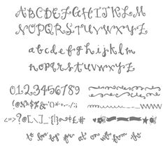 how to create fake calligraphy | jones design company