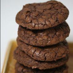 Cookies de cacau funcionais- sem glúten e sem leite | Nutrição Inteligente