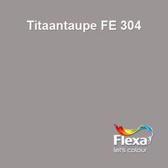 Flexa creations kleur urban taupe - Kleur grijze taupe ...