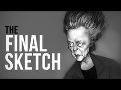 The Final Sketch - How to Finish Your Caricature Drawing - YouTube