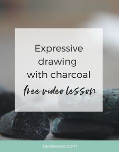 Charcoal Drawing Techniques Expressive drawing with charcoal: A free video lesson - A short free video lesson to show how easy and fun expressive charcoal drawing can be. Bring a bit more wildness to your art! Painting Courses, Art Courses, Painting Tips, Drawing Techniques, Drawing Tips, Sketching Tips, Drawing Ideas, Charcoal Art, Charcoal Drawings