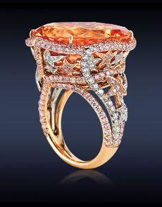 Ceylon Sapphire Cocktail Ring