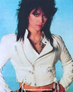 "( MUSIC ♪♫♪♪ 2016 ★ JOAN JETT "" Rock / hard rock / punk rock "" ) ★ ♪♫♪♪ Joan Marie Larkin - Monday, September 22, 1958 - 5' 5½"" - Philadelphia, Pennsylvania, USA."