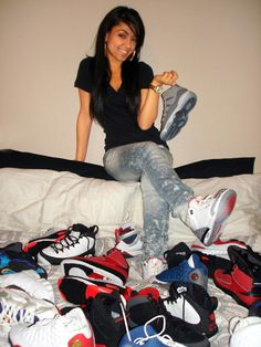 Girls with Swag and Jordan's | Girls With Swag And Jordans Tumblr - kootation.com