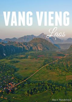 Vang Vieng, Laos, has to be one of the most beautiful places I've ever traveled.  There is so much beauty and so much to do and see.  Make this city a must-see on your next trip to Southeast Asia! | Alex in Wanderland