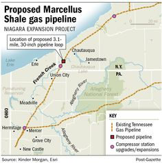 Proposed Marcellus Shale Gas Pipeline, Expansion of the Tennessee Gas Pipeline in Western NY