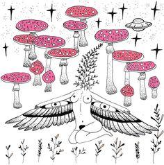 Fungi Poetics - MerakiLabbe / Embodied <3