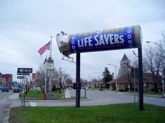 The Lifesaver was founded in Gouverneur,NY by Edward Noble.