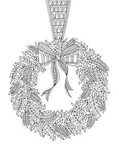 Lizzie Preston - Christmas-wreath-lizzie-preston-