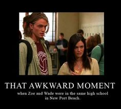The OC meets Hart of Dixie // I did NOT know that. lol. Look at his face.