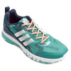 358091ccbe0 Tênis Adidas Skyrocket Feminino - Marinho e Branco