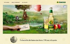 Somersby Cider | CSS Website