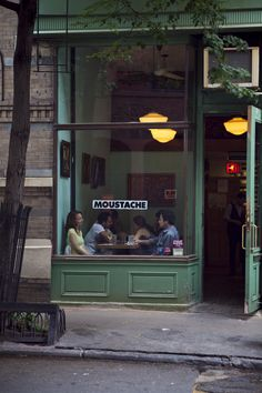 Moustache, West Village, NYC | Nicole Franzen
