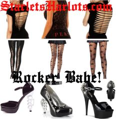 """Womens Punk Rock Clothing"" by starlets-harlots on Polyvore"