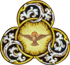 Trinity as Three Persons One Energizing Reality-Athanasius -2- Painting Holy Spirit Dove (1)