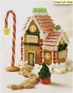 Cool Gingerbread House Ideas | ... this year over at Artisan Cake Company is this UP gingerbread house