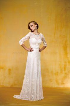 T162020 Jasmine Bridal :: 1920's Art Deco Great Gatsby wedding dress