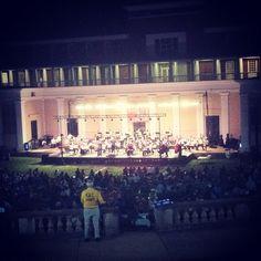 #UVa #Amphitheatre Symphony Under the Stars