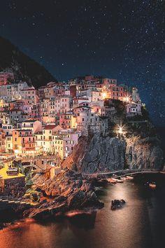 "eccellenze-italiane: "" obscvred: "" Source   Photographer "" Manarola, Liguria, Italia """
