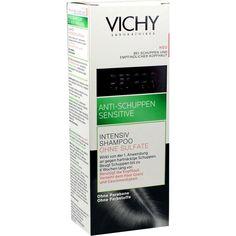 VICHY DERCOS Anti-Schuppen Sensitive Shampoo:   Packungsinhalt: 200 ml Shampoo PZN: 00359988 Hersteller: L Oreal Deutschland GmbH Preis:…