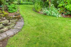 Inexpensive Landscape Borders   Stretcher.com - How to create cheap landscape edging