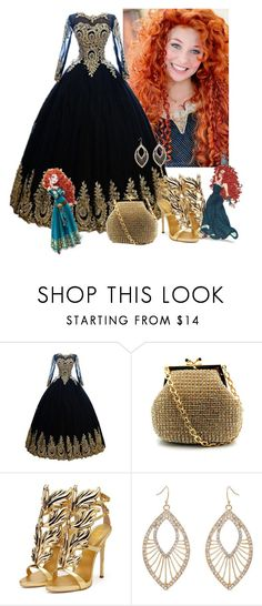 """""""Merida"""" by mozzy18 ❤ liked on Polyvore featuring Merida, Disney, Franchi and Erica Lyons"""