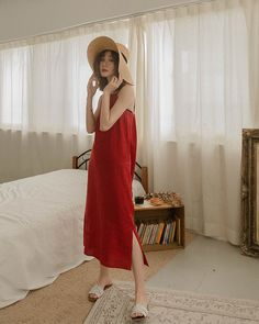 Tent Dress, Dress Up, Cotton Long Dress, Frock Fashion, Frocks, Street Style, Clothes For Women, Womens Fashion, Skirts