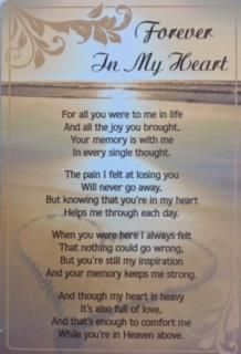 Designed to be left at the graveside, crematorium, wreaths, flowers. The lord is my shepherd; And I shall dwell in the house of the LORD forever. Losing A Loved One Quotes, Missing Quotes, Soulmate Love Quotes, Sister Poems, Brother Quotes, Son Quotes, Uncle Quotes, Death Quotes, Mom In Heaven Quotes