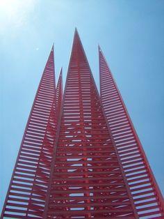 Corona del Pedregal.Mathias Goeritz.Espacio Escultórico. UNAM. México