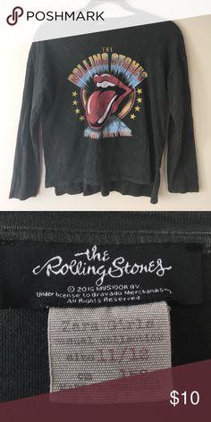 Zara Girls Rolling Stones shirt 11/12 Zara Girls Rolling Stones shirt 11/12 Zara Shirts & Tops Tees - Long Sleeve