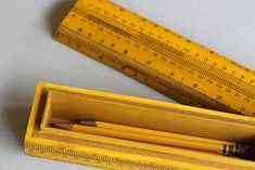 Recycling Vintage Rulers Into Treasure Boxes