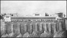 Greece History, Greek, Explore, Architecture, Modern, Painting, Vintage, Antique Post Cards, Arquitetura