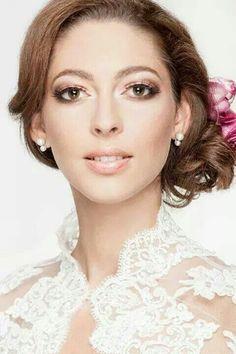 Bridal makeup by Krisztina Pásztor