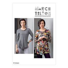 Purchase Vogue Patterns 9300 MISSES' TOP and read its pattern reviews. Find other Tops, sewing patterns.