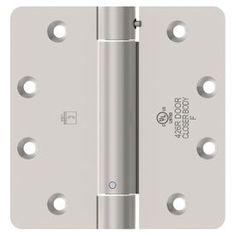 Hager Satin Nickel Door Hinge 1251 4X4 15