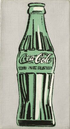 Press Center Christies Seminal Andy Warhol Coke Bottle to Spearhead Special Auction 'Up Close' in London's Frieze Week - London, 3 October Andy Warhol Pop Art, Andy Warhol Bilder, Bottle Drawing, Bottle Painting, Bottle Art, Music Poster, Pop Art Poster, Coca Cola, Warhol Paintings