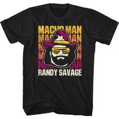 Wrestling Nature Boy Wooo T-Shirt Funny Men T Shirt Cool Retro Old School Tee