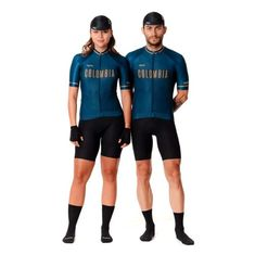 SAFETTI JERSEY MC COLOMBIA NAVY D Cycling Outfit, Cycling Clothing, Bike Wear, Bike Style, Bike Life, Triathlon, Sporty, Boutique, Navy