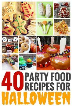Halloween Party Drinks, Halloween Trick Or Treat, Happy Halloween, Cheap Halloween Decorations, Best Party Food, Food Crafts, Diys, Desserts, Sweet Treats